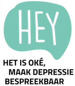 Hey het is oke, maak depressie bespreekbaar